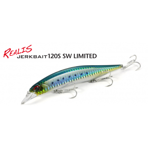 REALIS: JERKBAIT 120S SW LIMITED
