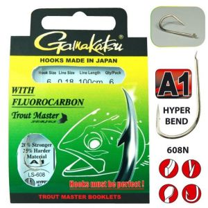 Trout Master fluorocarbon LS-608N
