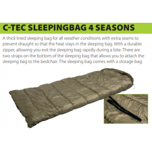 4 SEASON SLEEPING BAG (200x80cm)