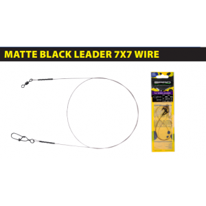 MATTE BLACK: LEADER 7x7 WIRE