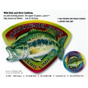 NALJEPNICA  CATCH-REALESE ZERO LIMIT -BASS