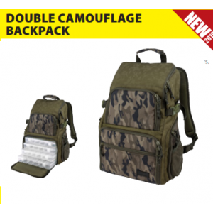 TORBA DOUBLE CAMOU BACKPACK