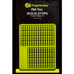 Rm-Tec BOILIE HAIR STOPS - FLUORO YELLOW