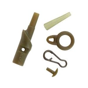 RUNNING SAFETY CLIPS - Camo Green