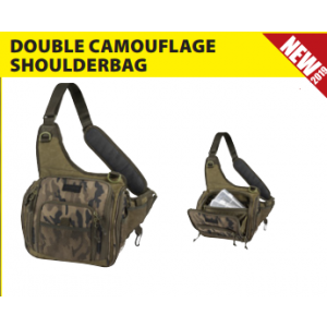 DOUBLE CAMOU SHOULDER BAG