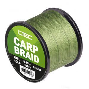 C-TEC CARP BRAID (Green) 500mt