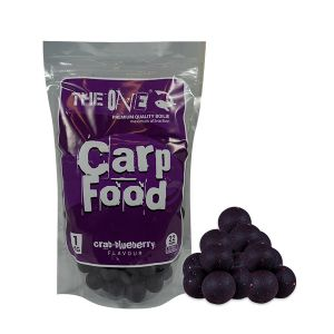 THE ONE: CARP FOOD BOILE (crab/blueberry) - 22mm