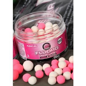 FLUORO POP-UPS MINI PINK & WHITE - CELL 8mm