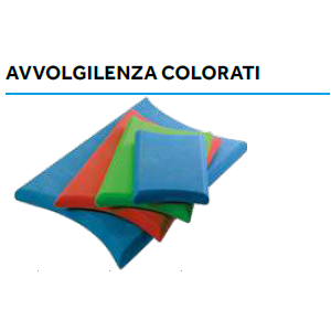 AVVOLGILENZA COLORATO 15x25cm