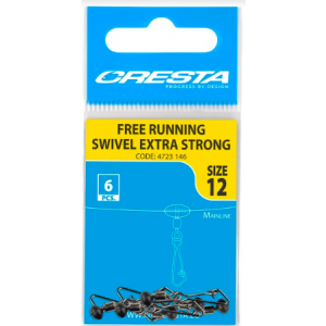 FREE RUNNING SWIVEL EXTRA STRONG - 12