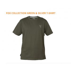 GREEN & SILVER T-SHIRT