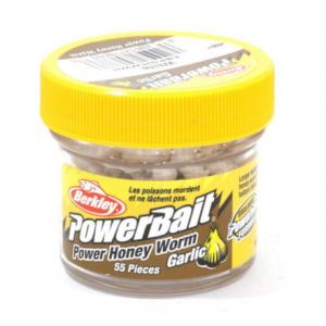 POWERBAIT: Power Honey Worm - White Garlic 2.5cm