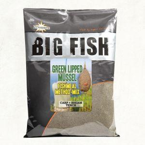 BIG FISH: FISHMEAL METHOD MIX - Green Lipped Mussel