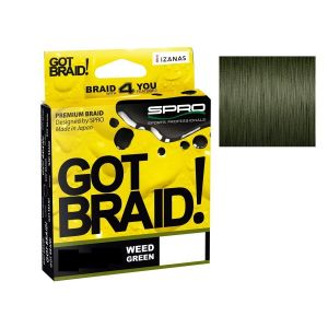 GOT BRAID! Weed Green 300mt