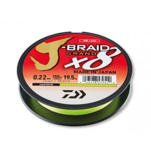 J-BRAID GRAND X8 - Chartreuse 135mt