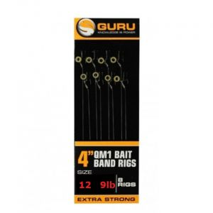 BAIT BANDS QM1 READY RIG 4'' (0.22mm/12)
