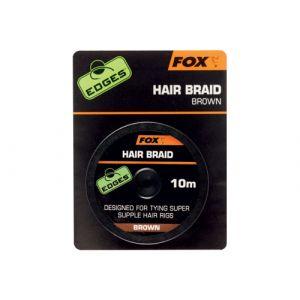EDGES: HAIR BRAID - BROWN