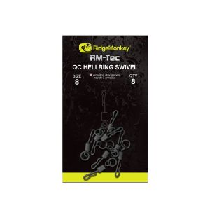 Quick Change Heli Ring Swivel - size 8