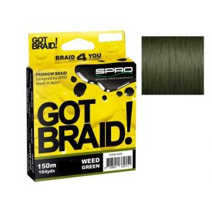GOT BRAID! 150mt Weed Green