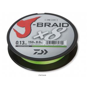 J-BRAID x8 Chartreuse 150mt
