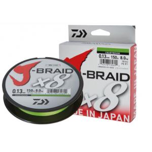J-BRAID x8 300mt - Chartreuse