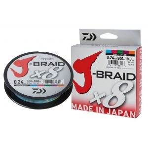J-BRAID x8 150mt Multicolor