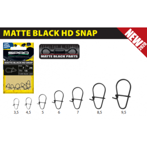 MATTE BLACK: HD SNAP