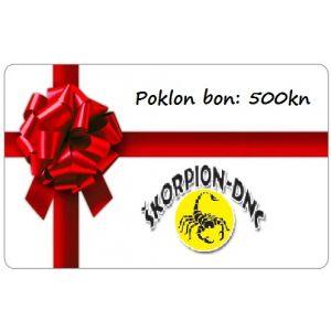 POKLON BON 500KN