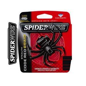SPIDERWIRE: CODE RED ŠPAGA - crvena