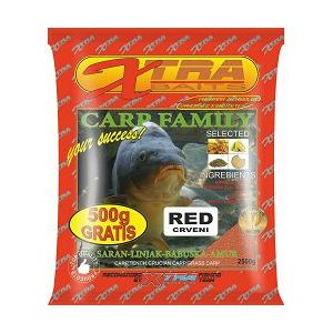 XTRA HRANA CARP FAMILY  2.5 KG RED