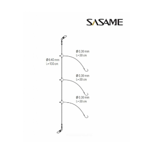 PREDVEZ 3 UDICE  1 (0.35-0.45mm/30cm)