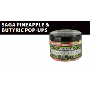 SAGA: PINEAPPLE & N-BUTYRIC 12&15mm