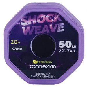 SHOCK WEAVE Braided Shock leader 50lb