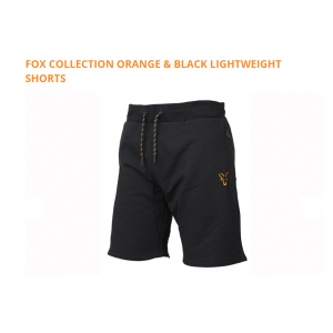 ORANGE & BLACK LIGHTWEIGHT SHORTS