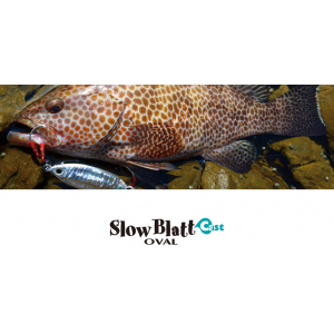 SLOW BLATT CAST OVAL - 15gr