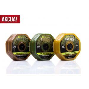 RM-Tec Soft Braid Hooklink 25lb/20mt