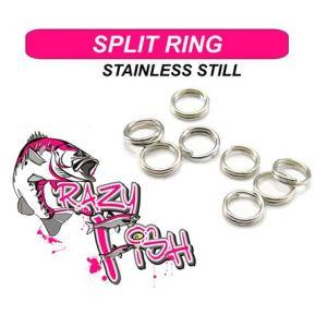 CRAZY SPLIT RING   (20pcs)