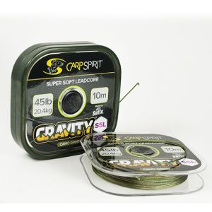 GRAVITY SSL Leadcore: 45lb Camo Green
