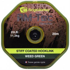 STIFF COATED HOOKLINK 25lb - Weed Green