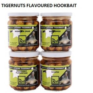 TIGERNUTS FLAVOURED HOOKBAITS