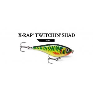 X-RAP TWITCHIN SHAD (XRTS08)