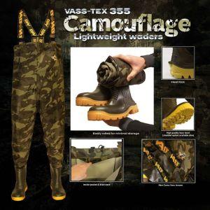 Vass-Tex 355 Lightweight Camouflage Wdaers