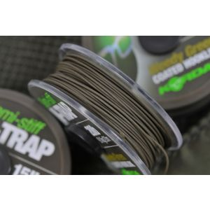 N-TRAP: SEMI STIFF COATED HOOKLINK - Weedy Green
