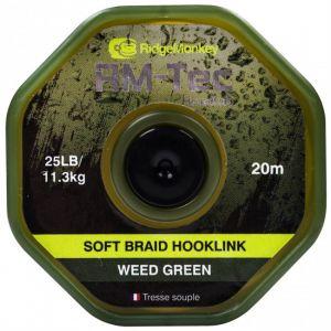 SOFT BRAID HOOKLINK 25lb - Weed Green