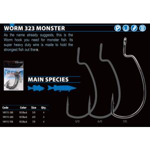 WORM 323 MONSTER - 5/0