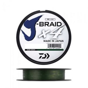 J-BRAID x4 135mt - Dark Green