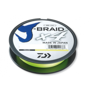 J-Braid x4 270mt - Yellow