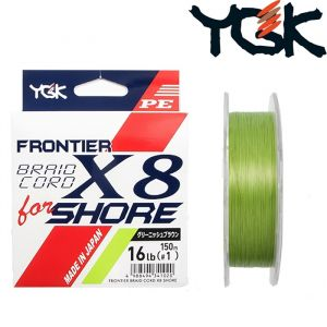 FRONTIER BRAID CORD X8 for Shore 150mt
