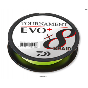 TOURNAMENT X8 EVO+ Chartreuse 150mt