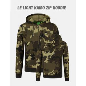 LE LIGHT KAMO ZIP HOODIE
